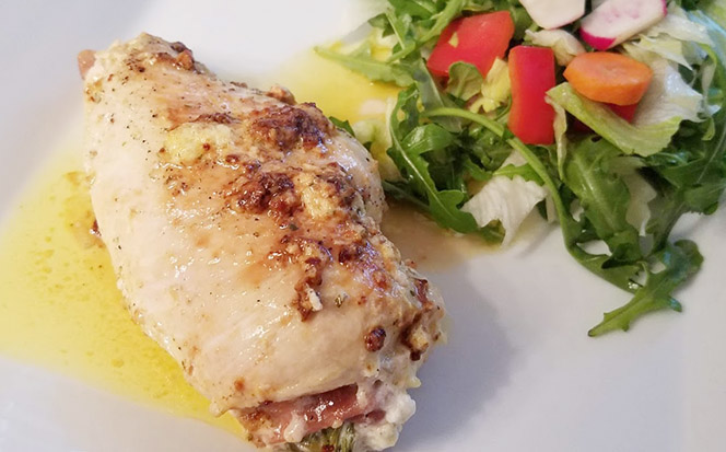 chicken proscuitto